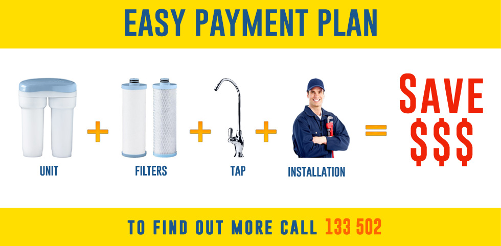 Buying water filter is now easy with our new easy payment plan