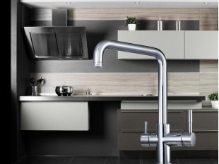 Industry  3 Way Mixer Tap