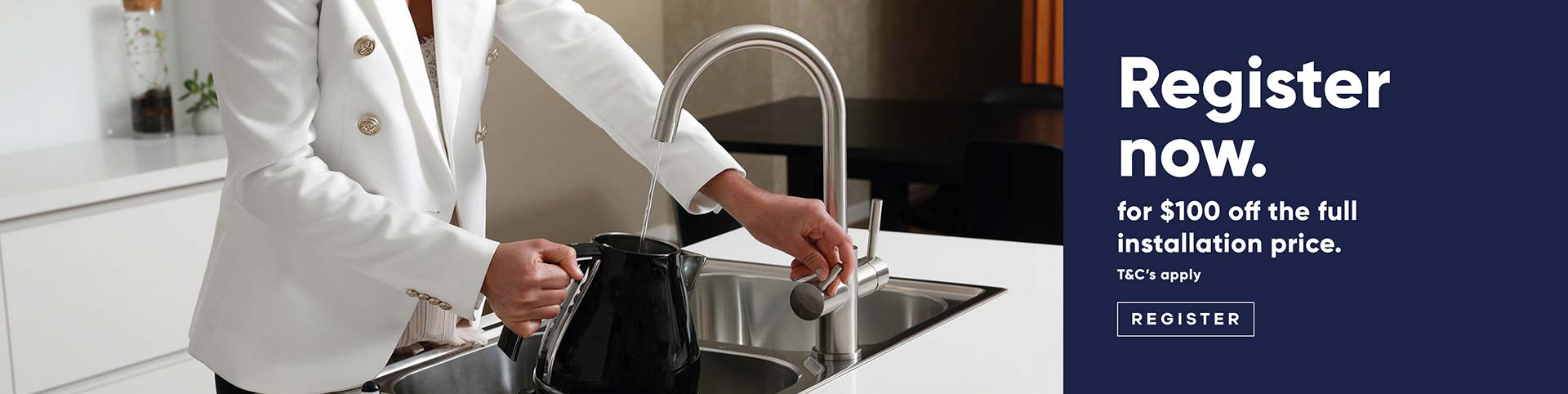 $100 off filter mixer tap | Puratap | Water Filters Specialist in Adelaide