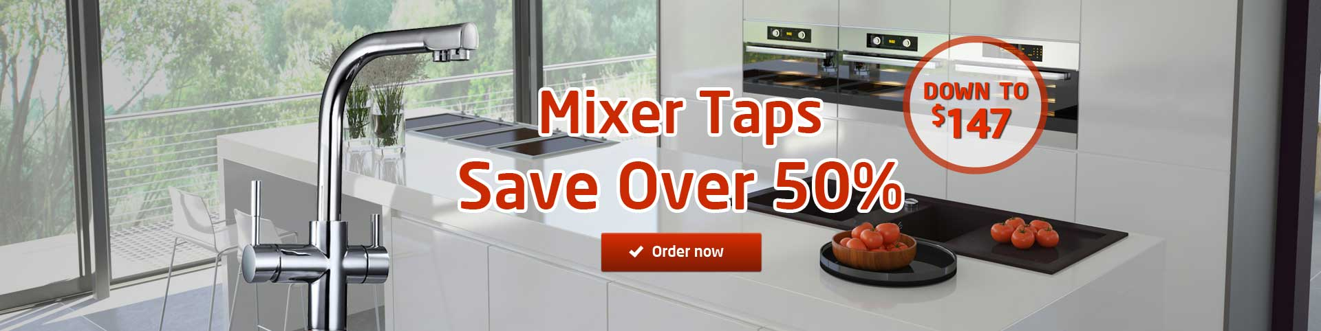 Save over 50% Filter Mixer Tap | Puratap | Water Filters Specialist in Adelaide