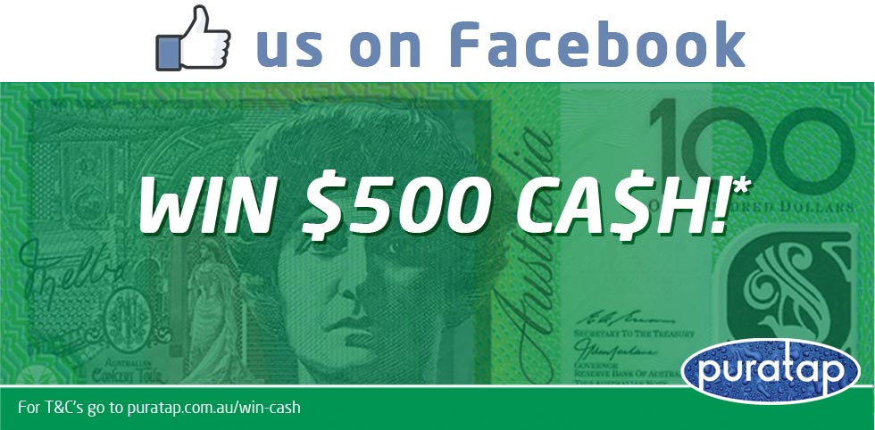 Like us to win $500 o Facebook