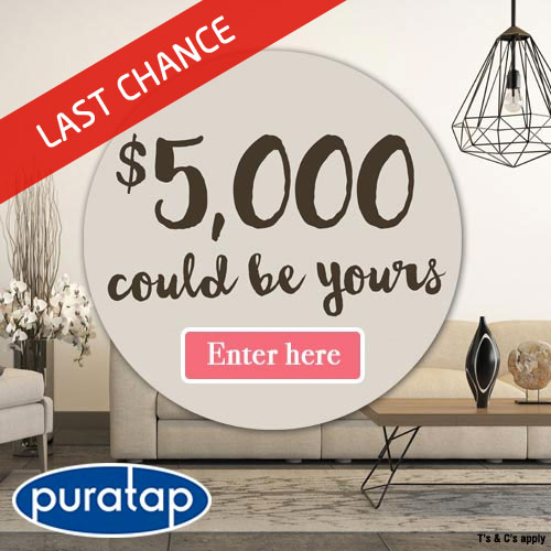 win a $5000 home makeover  | Puratap | Water Filters Specialist in Adelaide