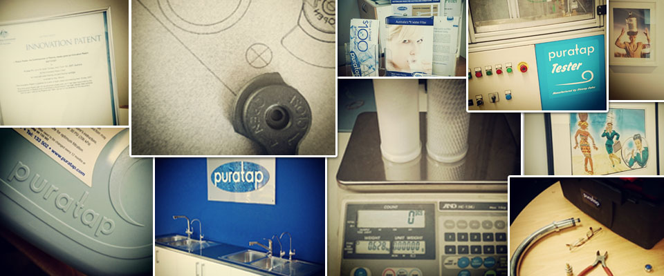 Puratap water filters certified awards, genuine products and working stills